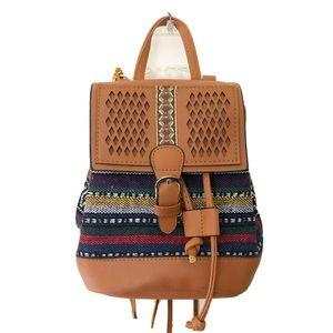 Embroidered Mini Backpack NWOT